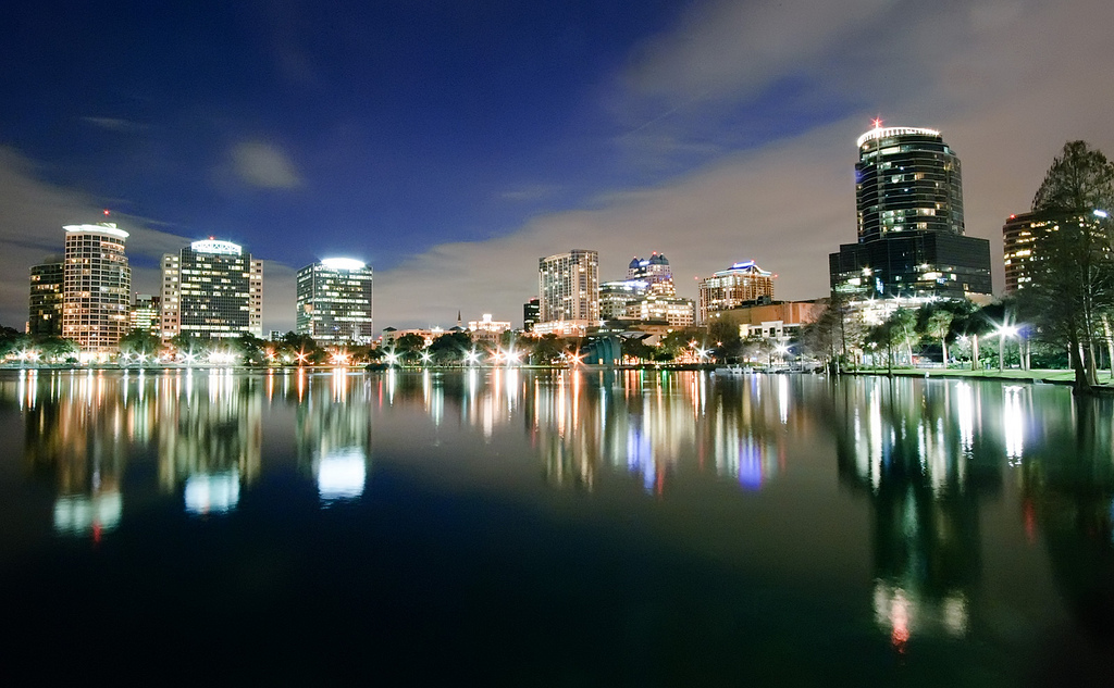Orlando Florida by night